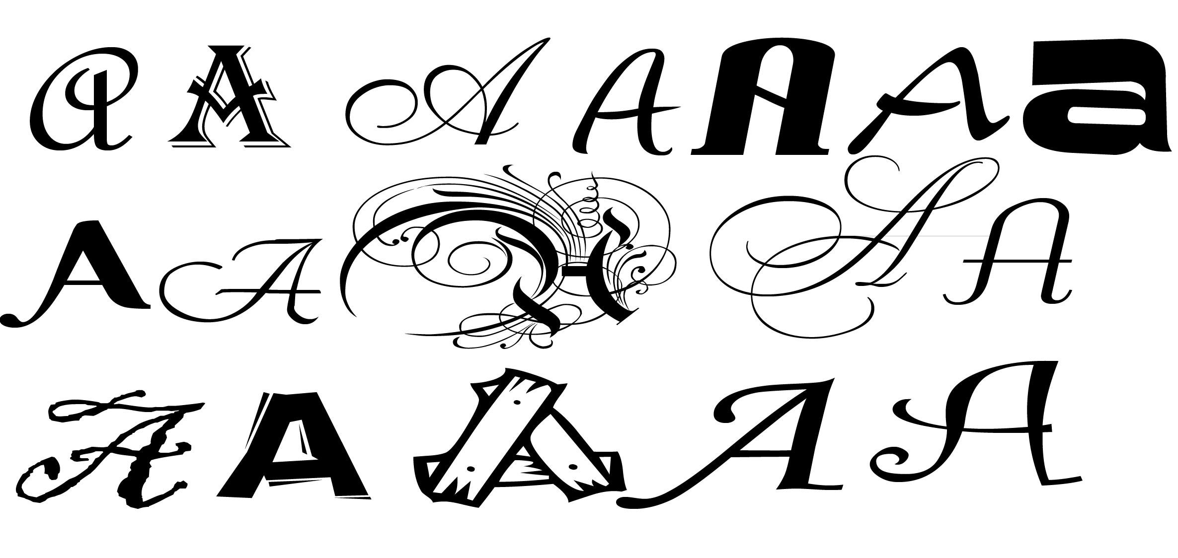 Letras para logos for Logos con letras